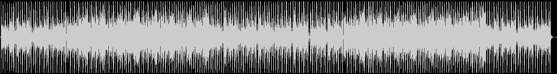 お洒落なジャズHipHopの未再生の波形