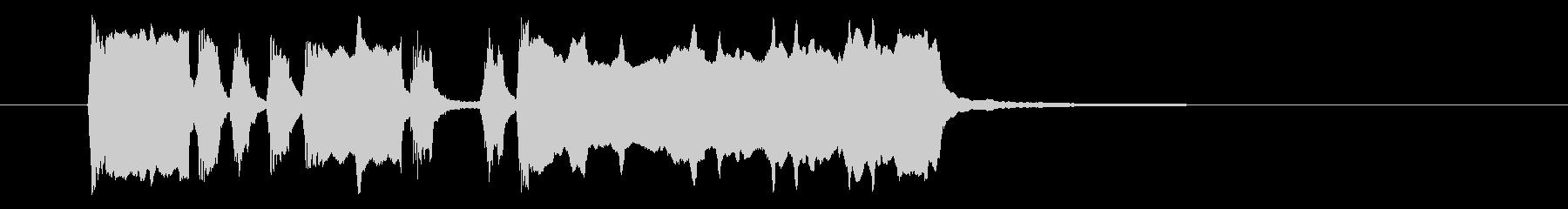 ファンファーレ(ラッパ、中音域)の未再生の波形