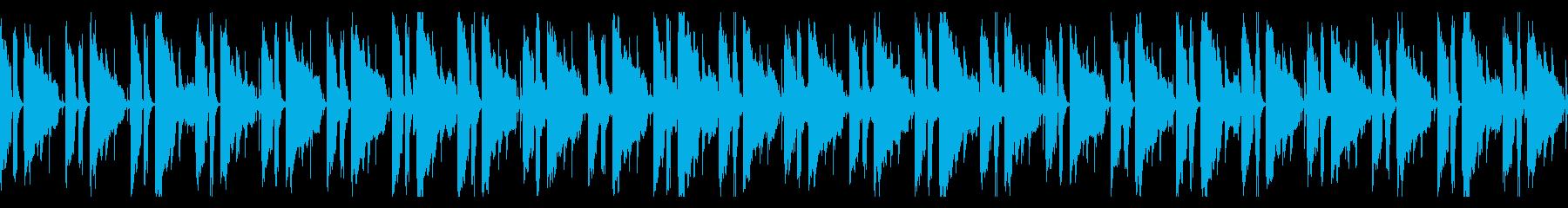 スローで優しいソウルバラードの再生済みの波形