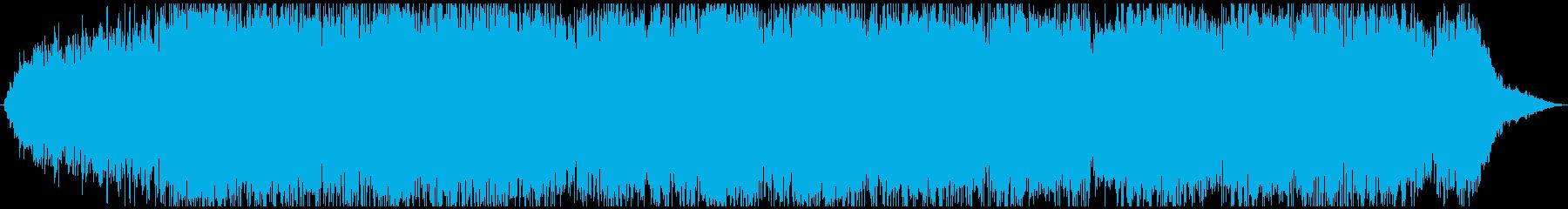 ドローン ゆがんだウォブル01の再生済みの波形