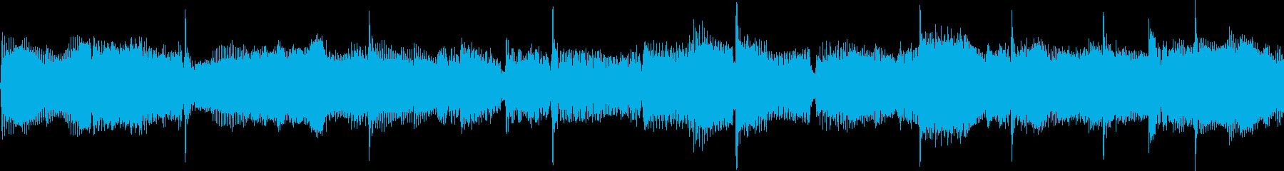爽やかで新鮮な雰囲気のジングル_ループの再生済みの波形