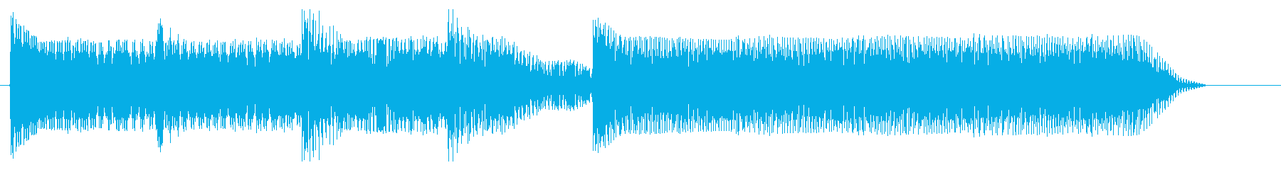 8bitジングル#12癒し系の再生済みの波形