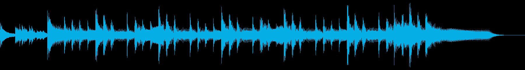 ランチェロリズム、スローテンポ、ベ...の再生済みの波形