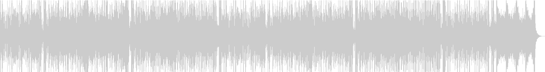 13秒でサビ、おだやか/カラオケの未再生の波形