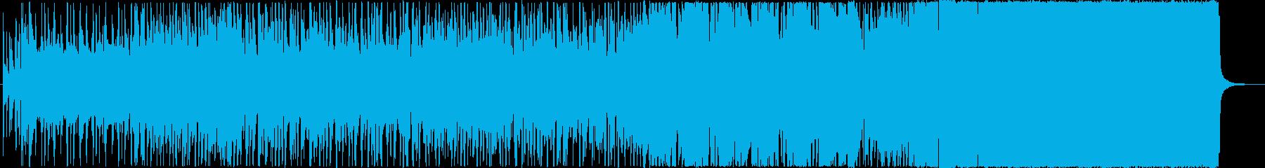 男女の恋愛バトルヒップホップ→ロックの再生済みの波形