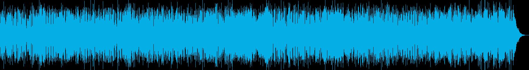 破れかぶれ感あるブルース、サックスソロの再生済みの波形