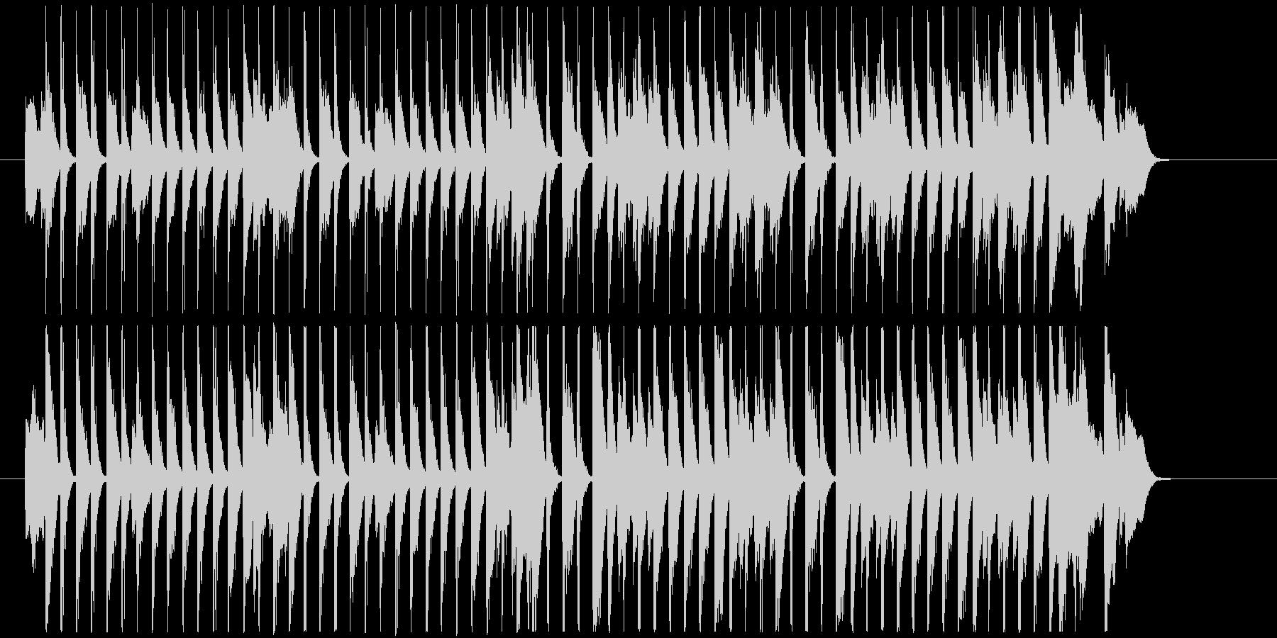 30秒犬猫 レトロ お酒料理CM B34の未再生の波形