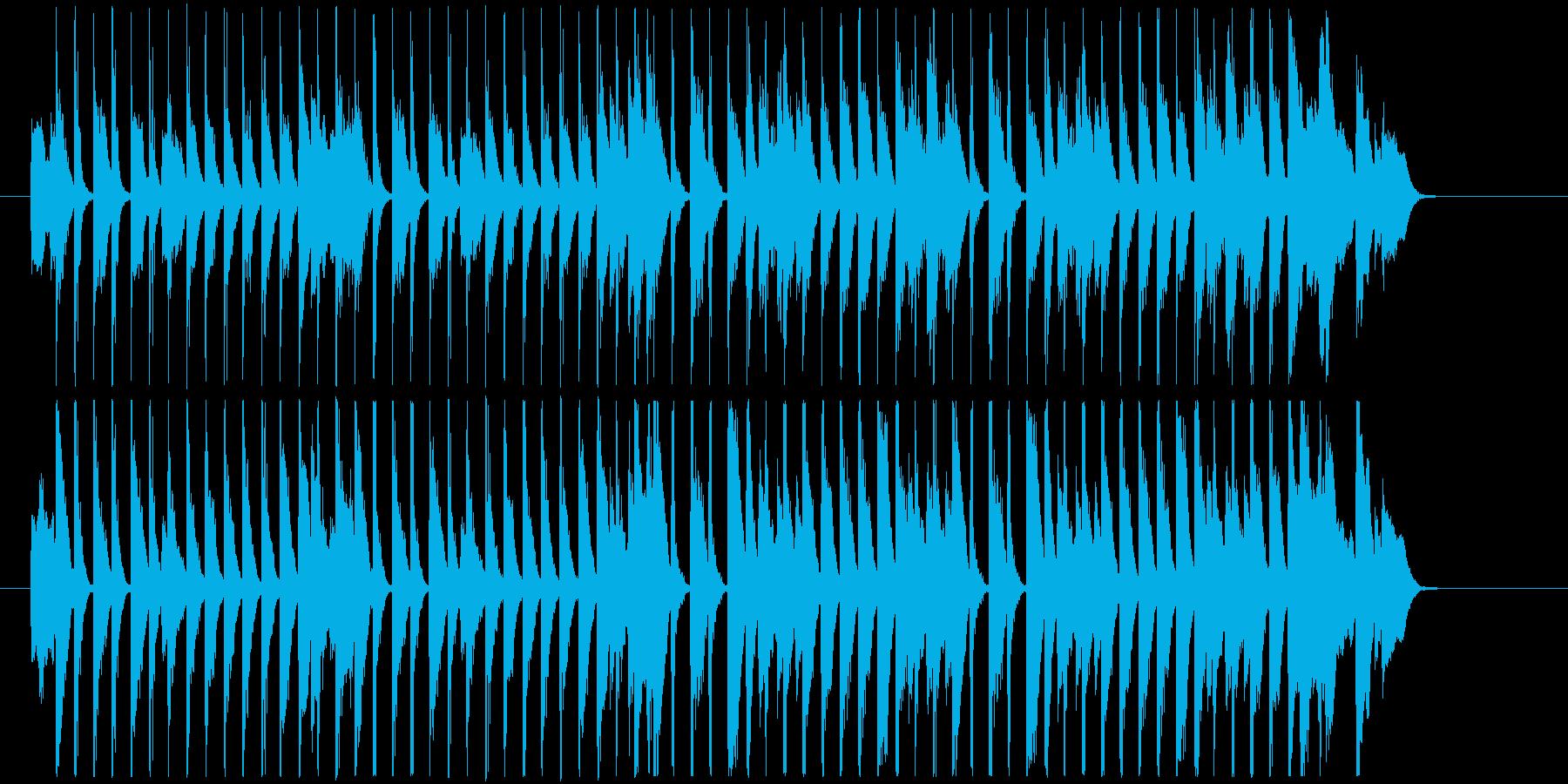 30秒犬猫 レトロ お酒料理CM B34の再生済みの波形