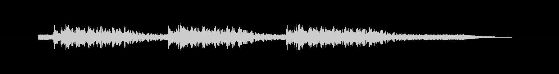 ビープ音;コンピューター警告音。の未再生の波形