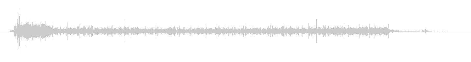 水 タップフローミディアムロング04の未再生の波形