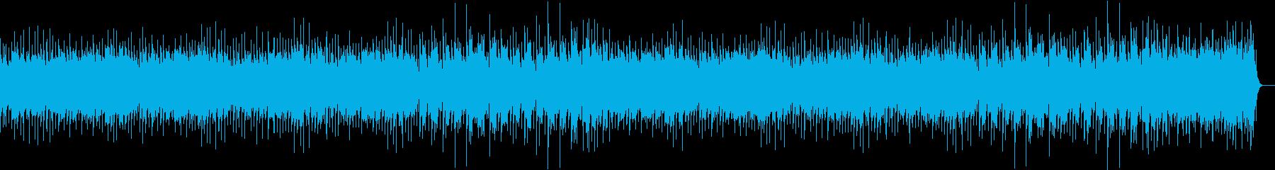 懐かしのラテンダンスミュージックの再生済みの波形