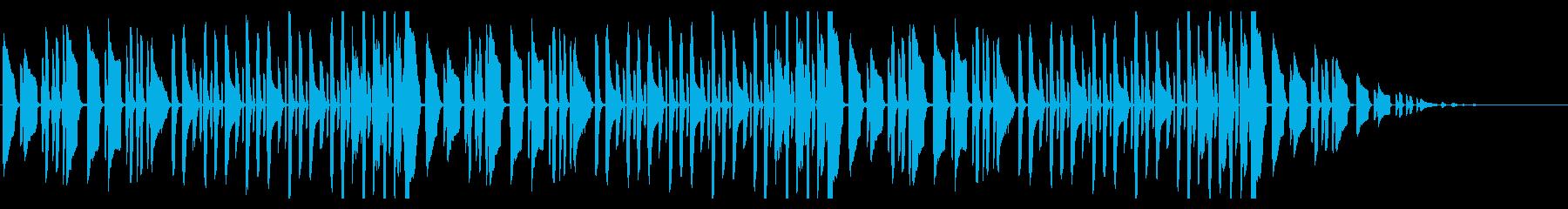 アイネクライネナハトムジーク脱力アレンジの再生済みの波形