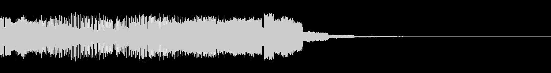 パチンコ的アイテム獲得音05(電子音)の未再生の波形