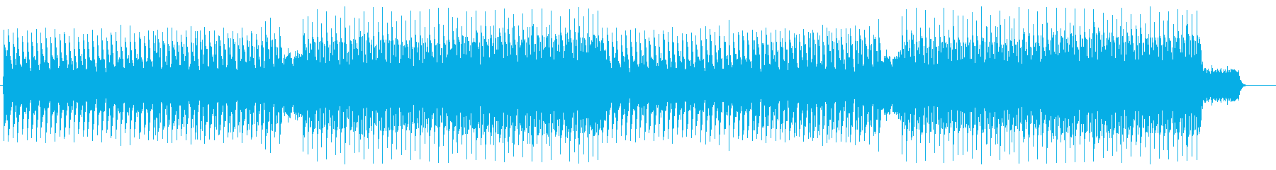 ゲーム、映像 ダークで不気味なエレクトロの再生済みの波形