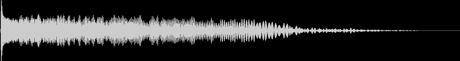 【ゲーム演出】ボンッ・・・_低音の未再生の波形