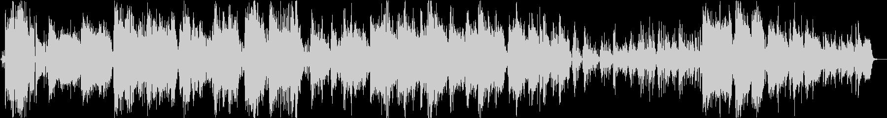 ジャズ。トロンボーンソロのアンサン...の未再生の波形