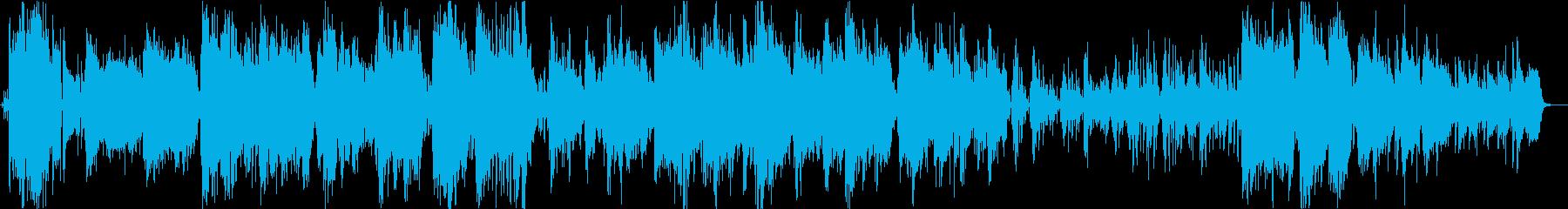 ジャズ。トロンボーンソロのアンサン...の再生済みの波形