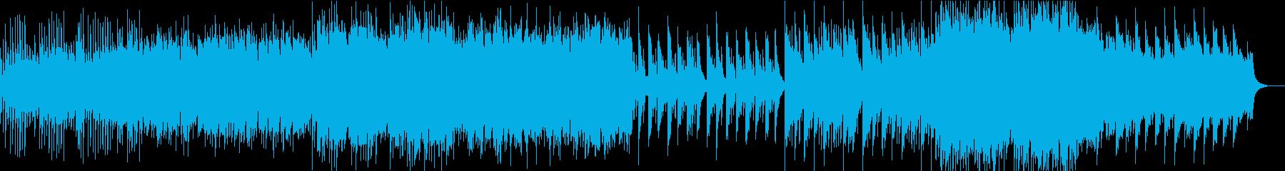 【和風】切なくノスタルジーなピアノの再生済みの波形