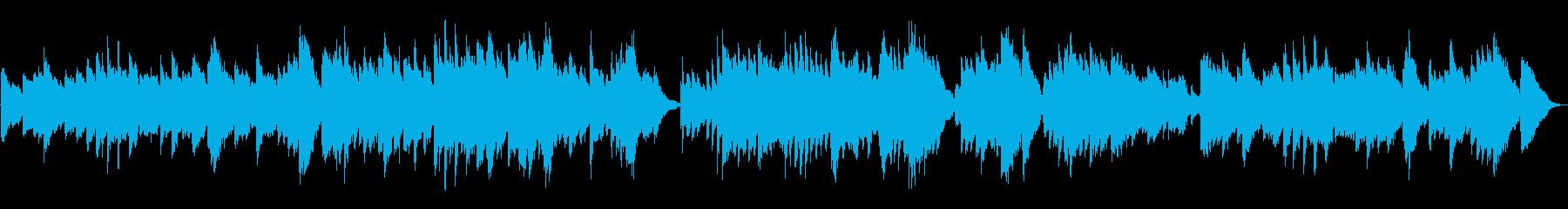 ベートーベン「悲愴」2楽章有名部分テーマの再生済みの波形