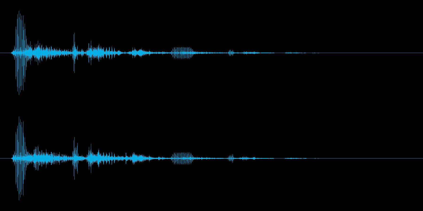 キキッ (軽めなブレーキ音)の再生済みの波形