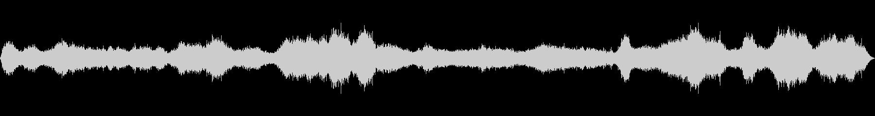 ブルースタリーブリーズの未再生の波形