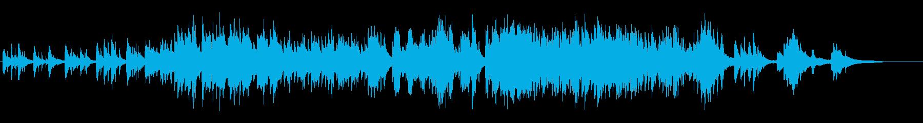 生ピアノで奏でる美しい日本の歌:七夕さまの再生済みの波形