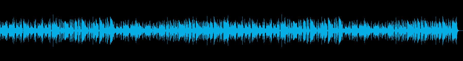 コミカルでちょっと間抜けなのんきな音楽の再生済みの波形
