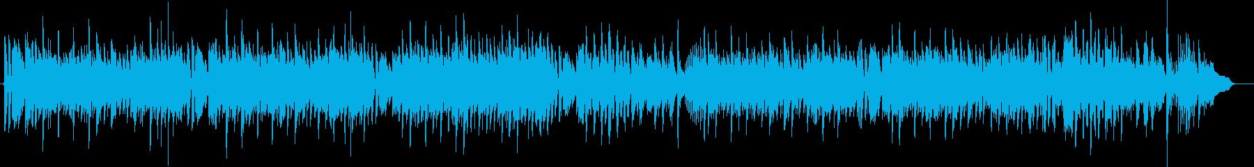 カントリー・サザンロック系アコギ合奏の再生済みの波形