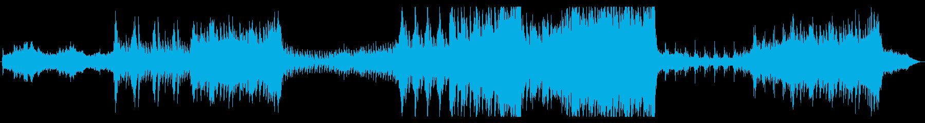 映画・トレーラー・エピック系・ダークの再生済みの波形