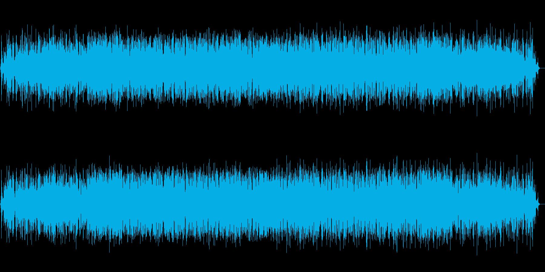 メロウで不思議な感覚のノイズミュージックの再生済みの波形