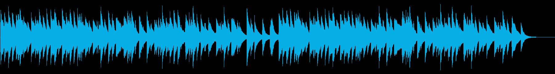 もみじ 72弁オルゴールの再生済みの波形