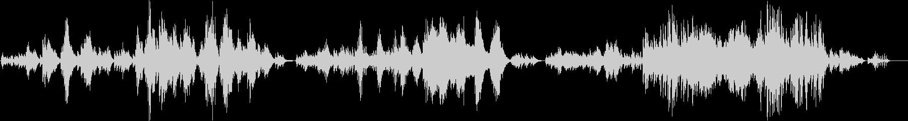 和風とクラシックのハイブリッドピアノソロの未再生の波形