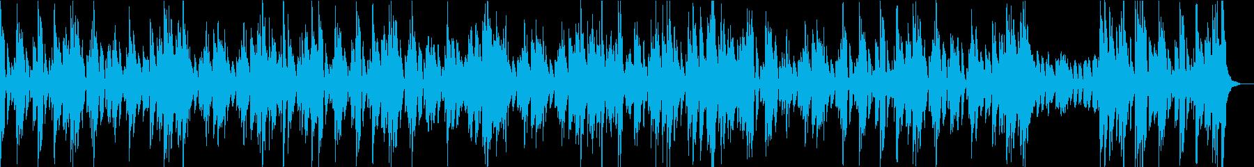 マリンバ、ストリングス、ピアノ、パ...の再生済みの波形