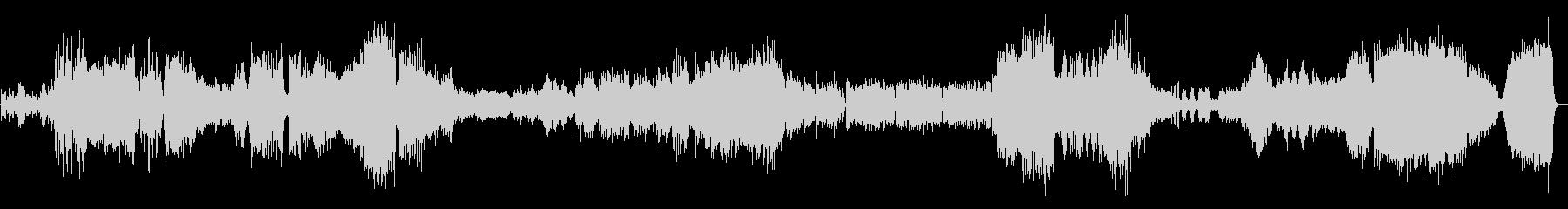 ラフマニノフピアノ協奏曲2番3楽章の未再生の波形