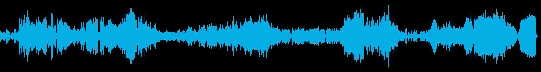 ラフマニノフピアノ協奏曲2番3楽章の再生済みの波形