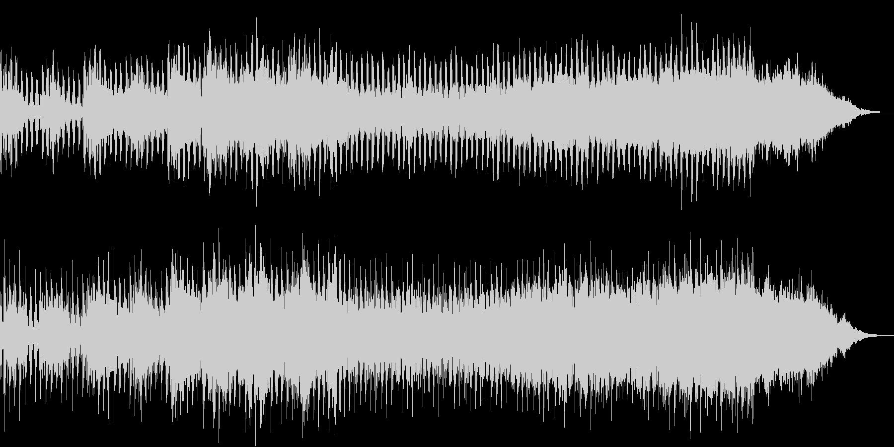 浮遊感のあるアンビエントなエレクトロの未再生の波形