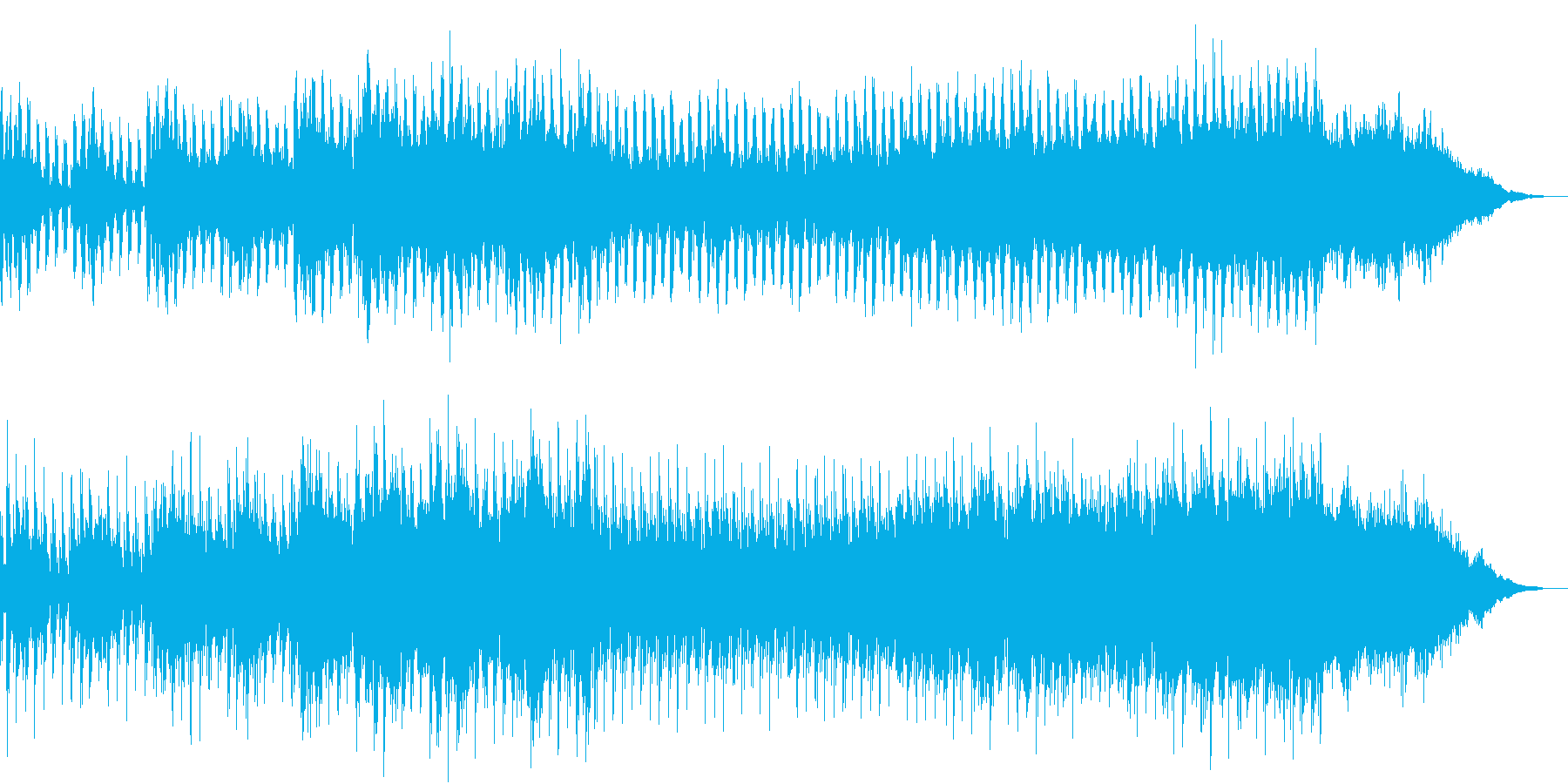 浮遊感のあるアンビエントなエレクトロの再生済みの波形