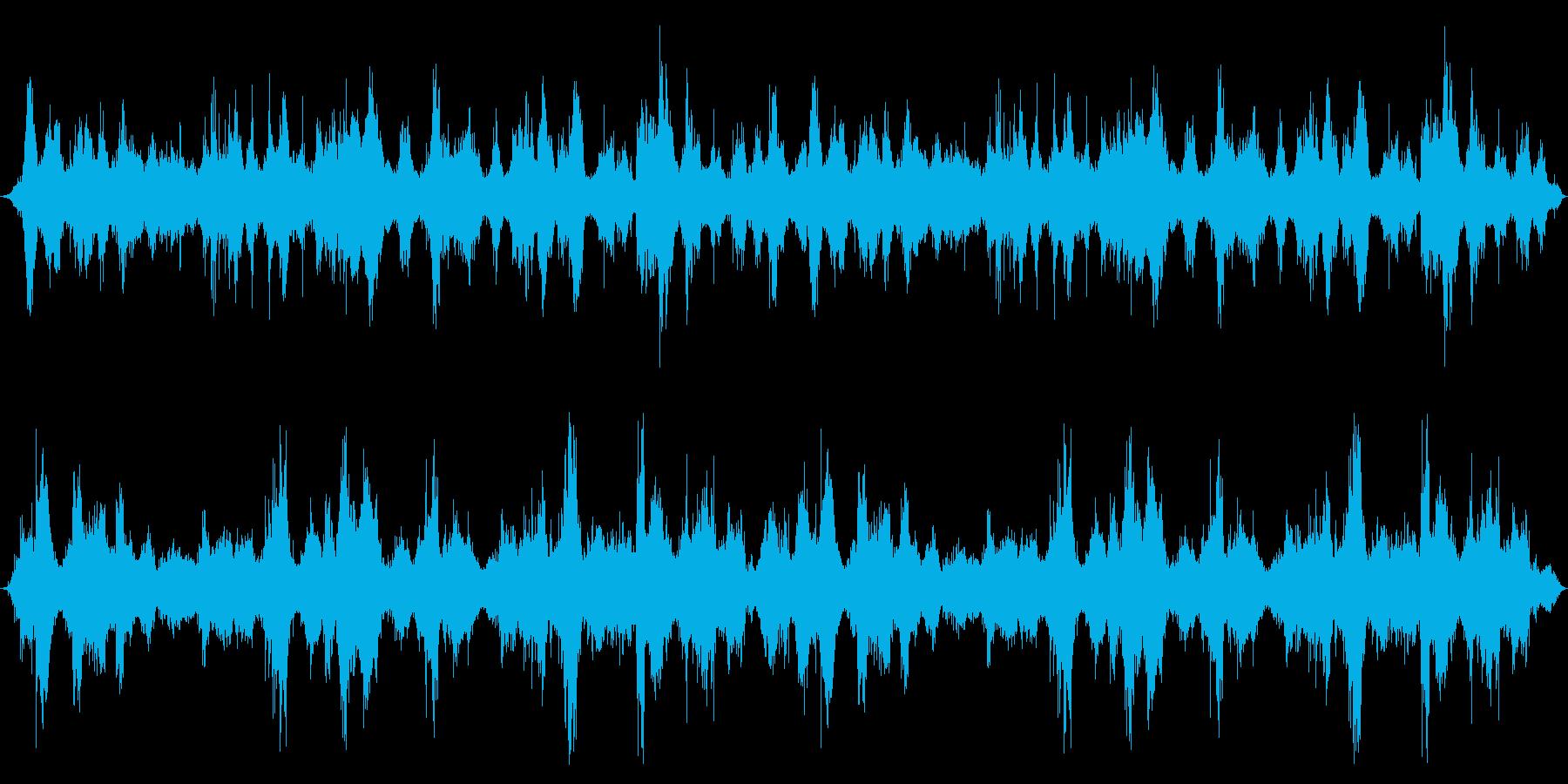 オーシャン:波が中に入ってくるの再生済みの波形