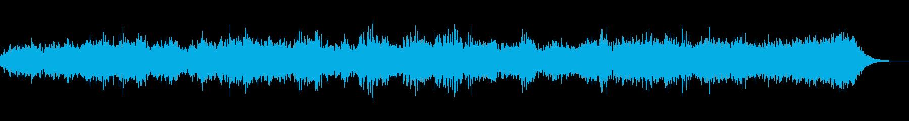 レトロシンセをテーマにしたアンビエントの再生済みの波形