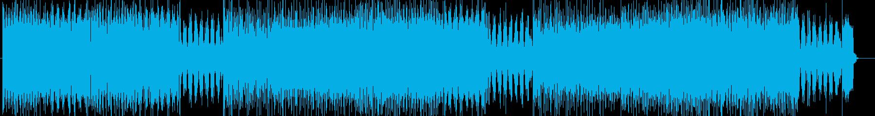 「HEAVY METAL」BGM115の再生済みの波形