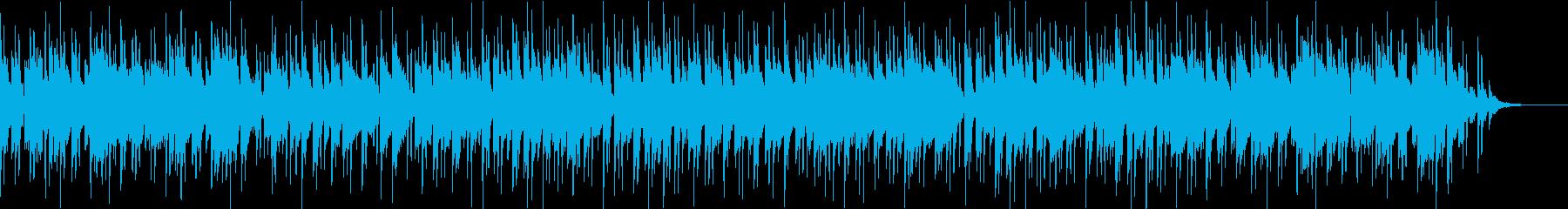 爽やかで落ち着いた雰囲気のスムースジャズの再生済みの波形