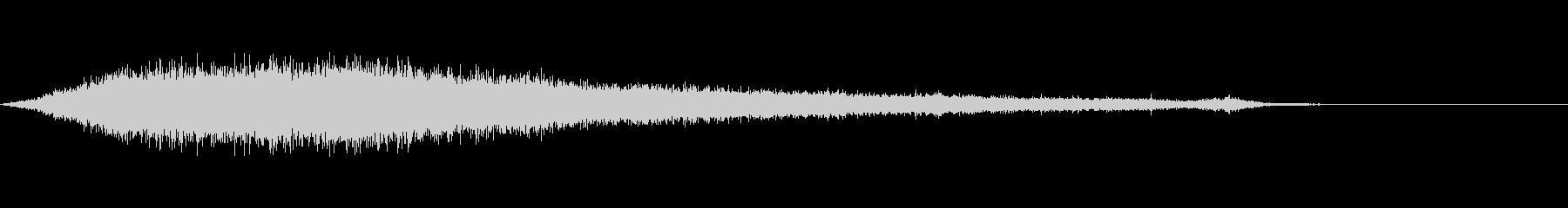 ワァーキャー!コンサートやライブ歓声21の未再生の波形
