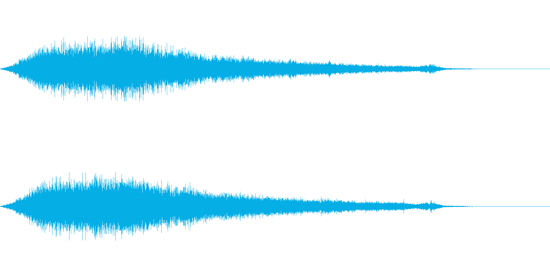 ワァーキャー!コンサートやライブ歓声21の再生済みの波形