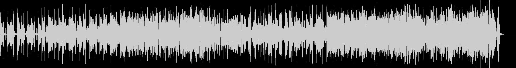 ケルト・アイリッシュのコミカルな行進曲の未再生の波形