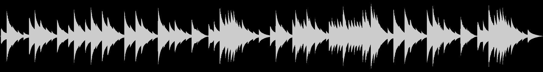 電話 保留音01-4(ノクターン)の未再生の波形