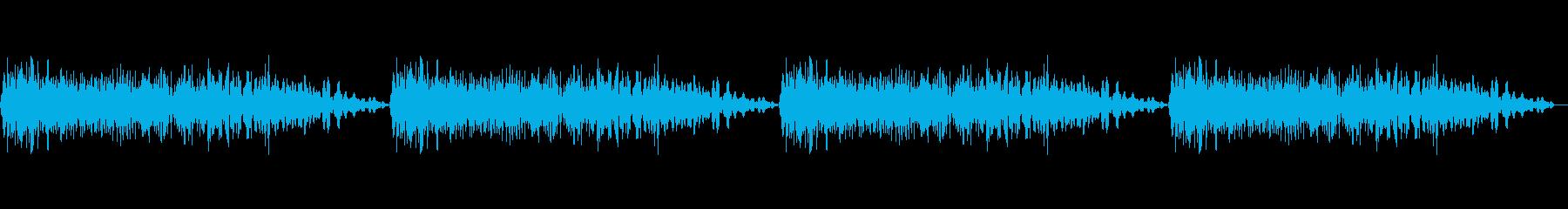 レーザーガンの再生済みの波形