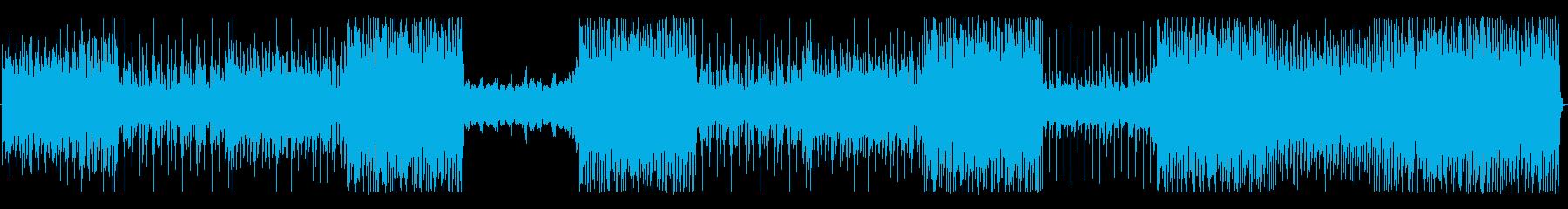 モダンなドラムグルーブを備えた非常...の再生済みの波形