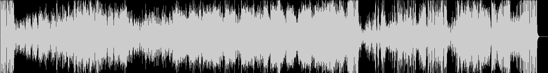 トランペットソロが映える怪しげなジャズの未再生の波形