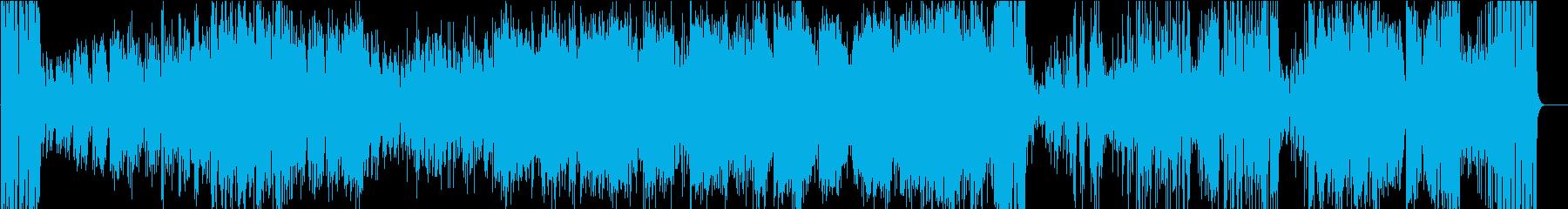 トランペットソロが映える怪しげなジャズの再生済みの波形