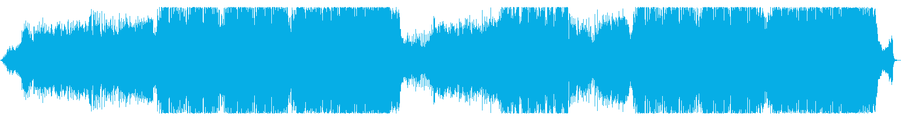 力強い感じのEDMです。の再生済みの波形